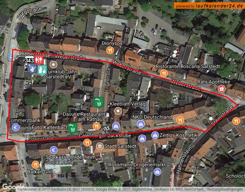 Strecke 2,2 km