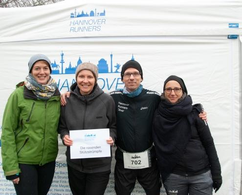 Katrins Staffel beim Marienburg Marathon