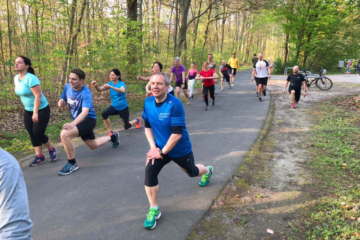 Relaunch Outdoor-Fitness Training