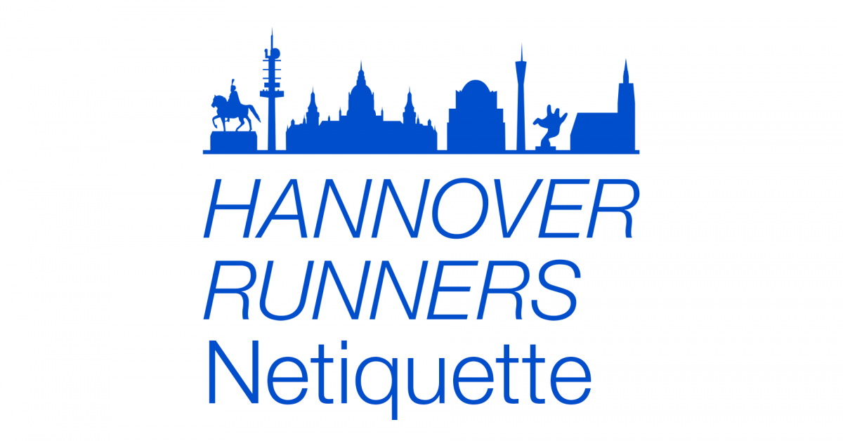 Hannover Runners Netiquette – Teil 3