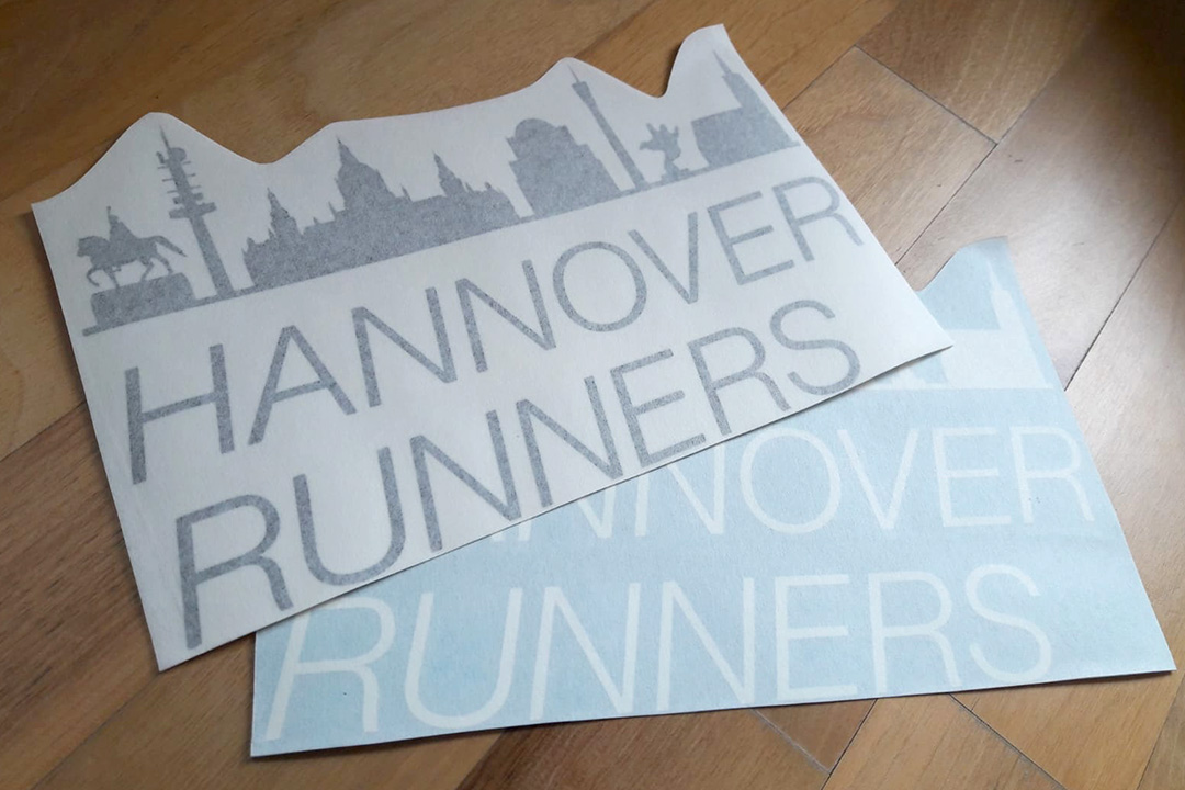 Hannover Runners Auto-Aufkleber