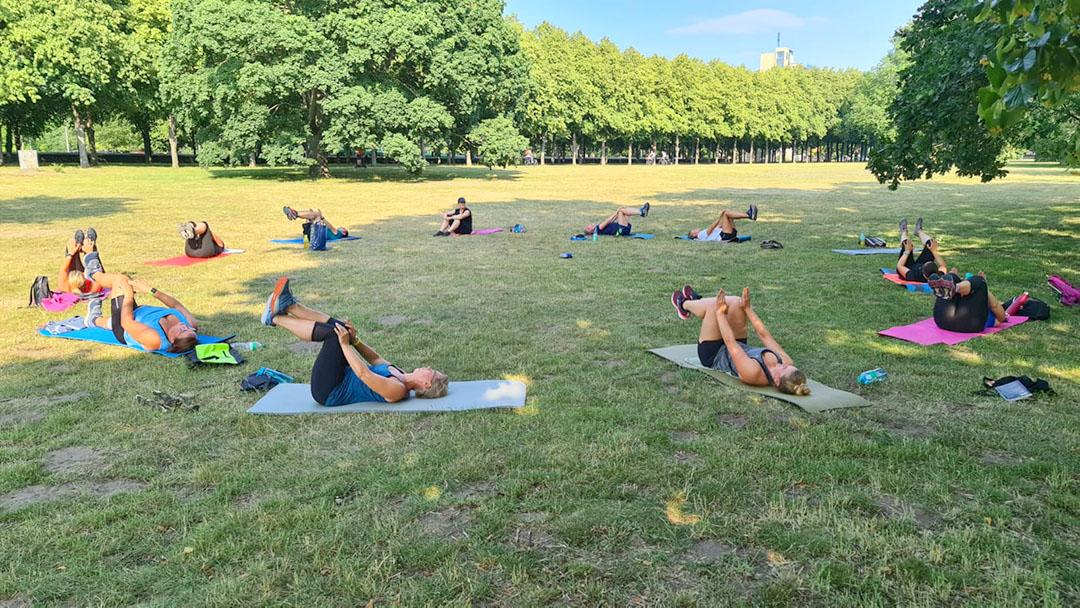 Outdoor-Fitness-Training 2020 im Georgengarten